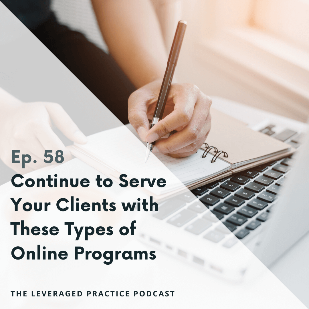 Ep 58 Adding Group Programs to a Brick and Mortar Practice with Suzanne Dietrich (1)