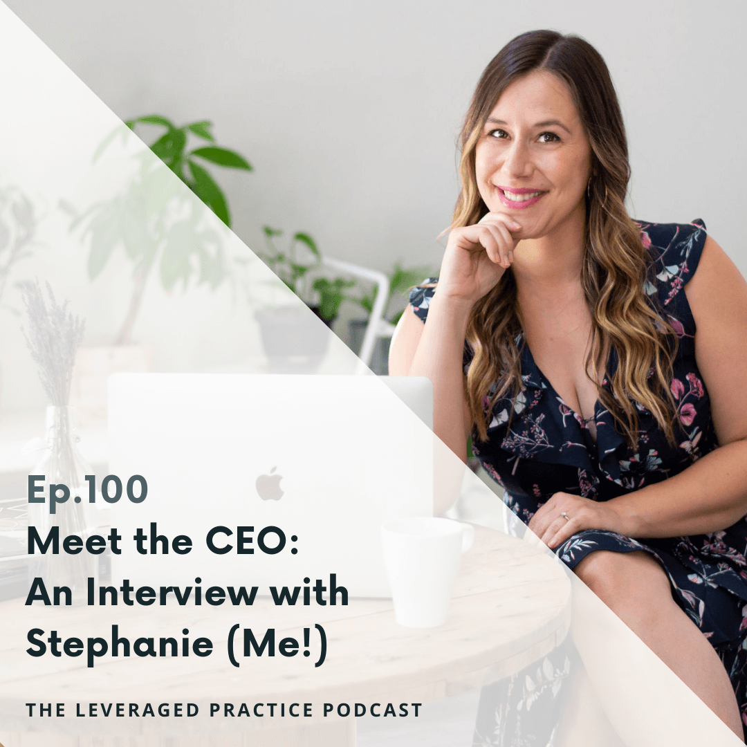 Ep.100 Meet the CEO_ An Interview with Stephanie (Me!)