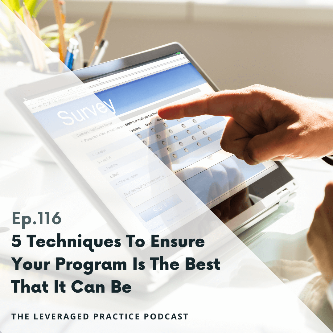 Ep.114 Best Practices for a Group Model(1)
